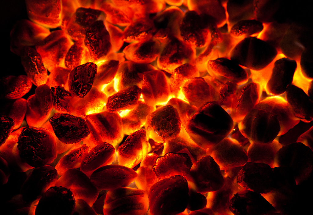 Hot Coals from the Altar